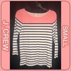 J.CREW LONG SLEEVE TOP SMALL- EXC COND!
